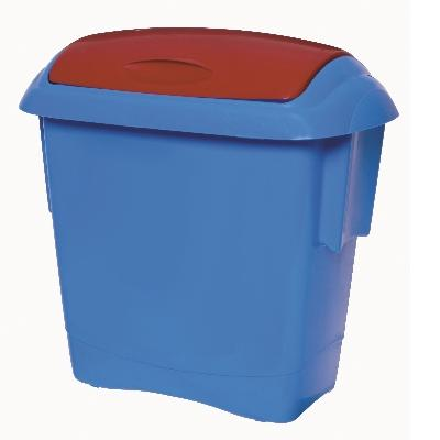 KIDS BIN BLUE/RED (6)