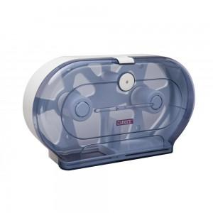 Caprice Jumbo Twin Toilet Roll Dispenser (ABS Plastic)