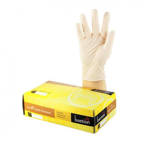 Bastion Latex L/P Large Gloves