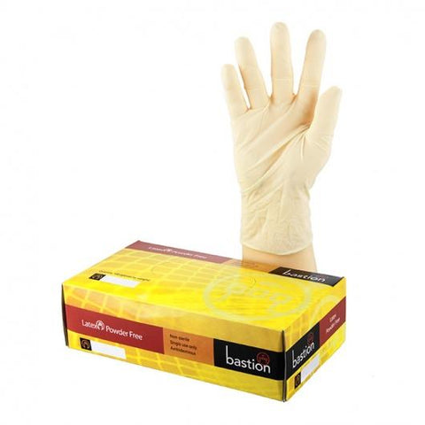 Bastion Latex P/F Large Gloves