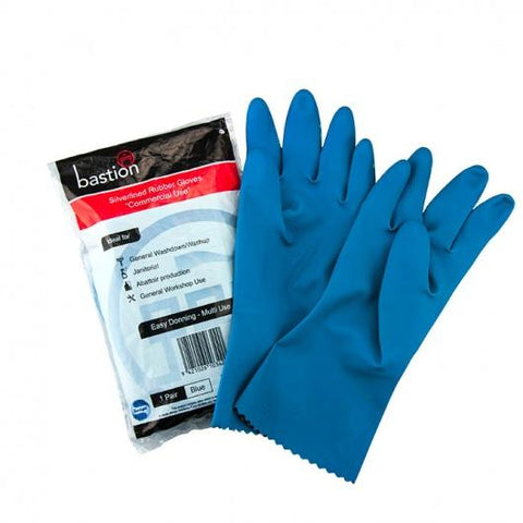 Bastion Silverline Blue Large Gloves