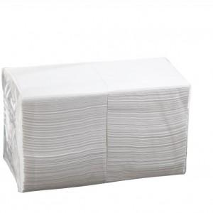 Ultrasoft Quilted Cocktail Napkin White