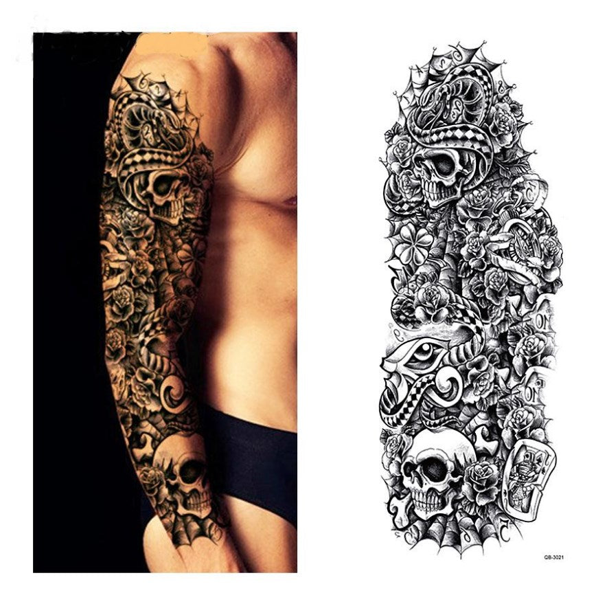 QB-3021 temporary tattoo sleeve Liratech Europe