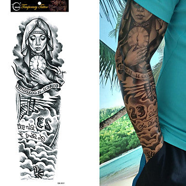 save and preserve temporary tattoo sleeve Liratech