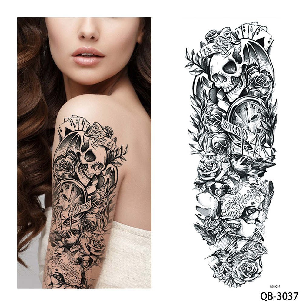 QB-3037 temporary tattoo sleeve Liratech Europe