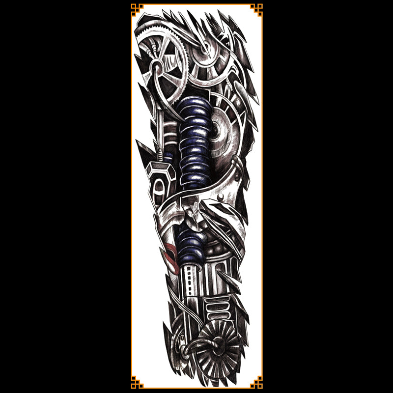 QB-3008 temporary tattoo sleeve