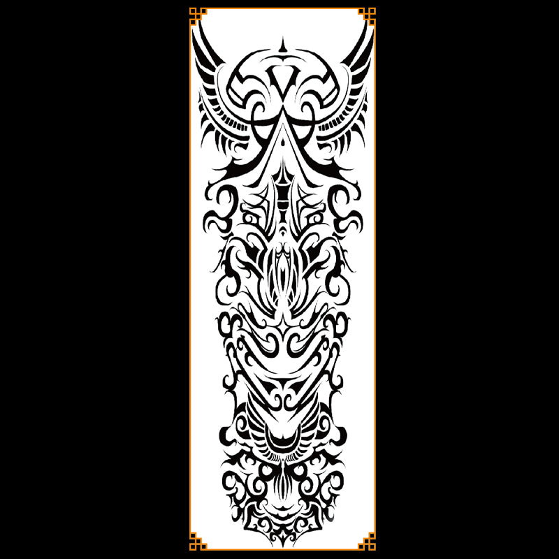 QB-3032 temporary tattoo sleeve