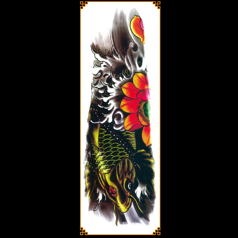 QB-3063 temporary tattoo sleeve