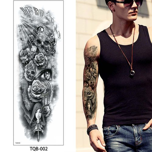 TQB-02 temporary tattoo sleeve Liratech Europe