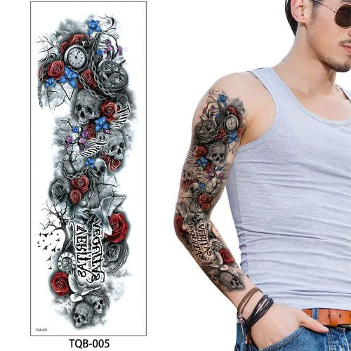 TQB-05 temporary tattoo sleeve Liratech Europe