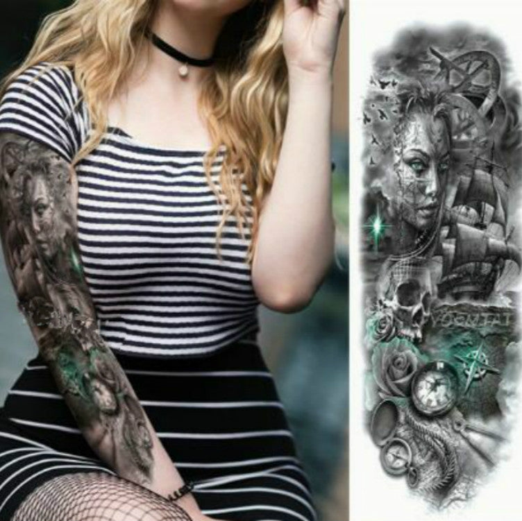 TQB-099 temporary tattoo sleeve Liratech Europe