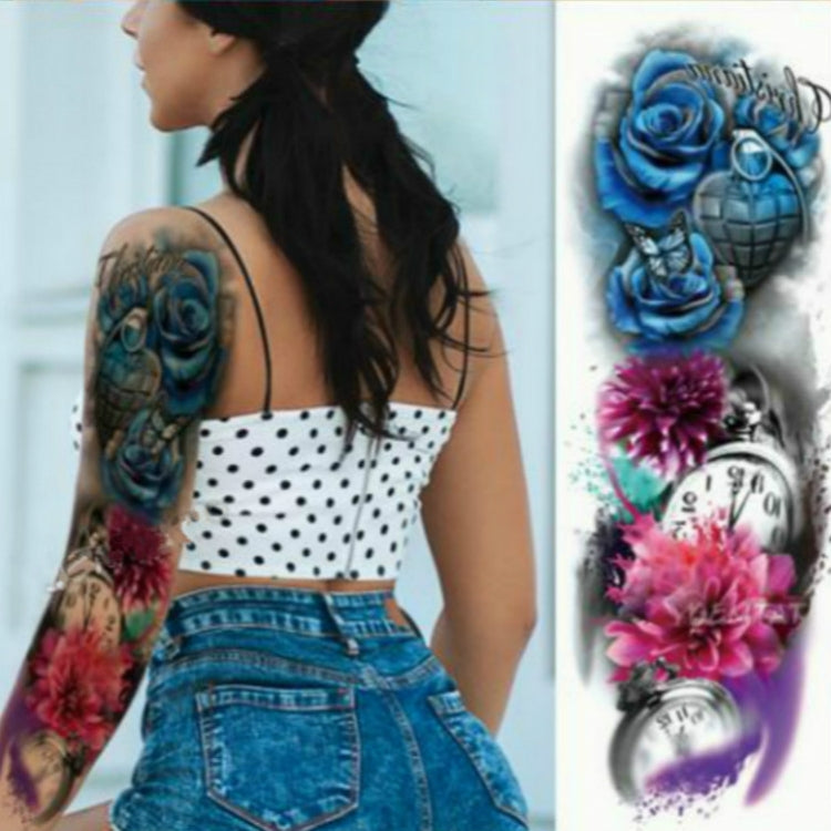 TQB-071 temporary tattoo sleeve