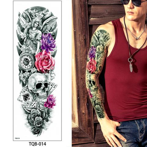 TQB-14 temporary tattoo sleeve Liratech Europe