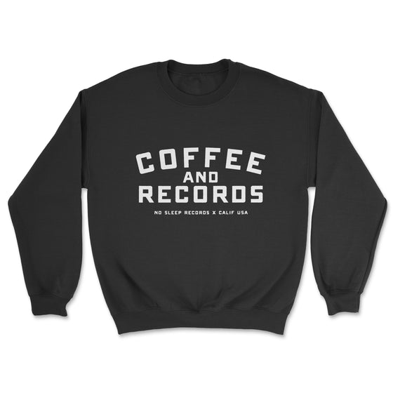 Coffee and Records Crew Neck