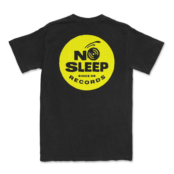 No Sleep Yellow Logo Shirt