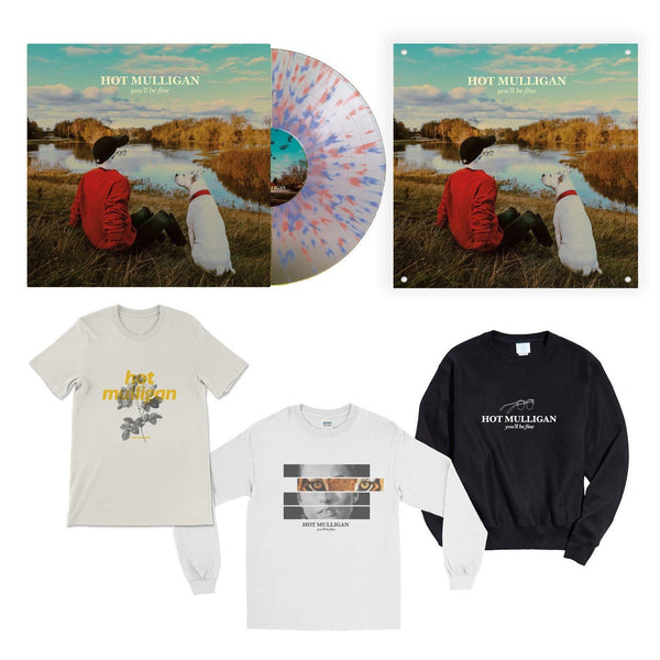 you'll be fine Mega Bundle (Splatter Vinyl)