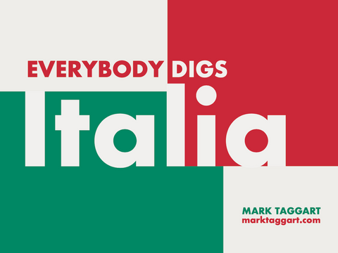 """Ebook cover for """"Everybody Digs Italia"""""""