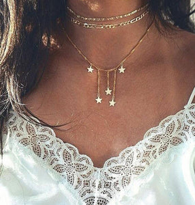 Festival Star Choker Necklace