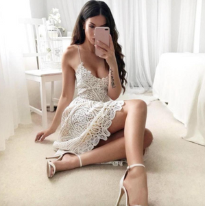 Beautiful Lace Spring Dress