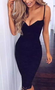 Lace Bodycon Party Dress