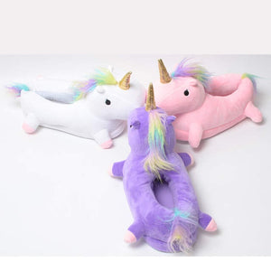 Majestical unicorn slippers!