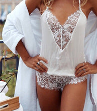 Load image into Gallery viewer, Sexy Lace Romper
