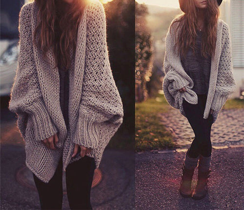 Oversized Cozy Boho Sweater