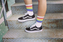 Load image into Gallery viewer, Cotton Rainbow Socks