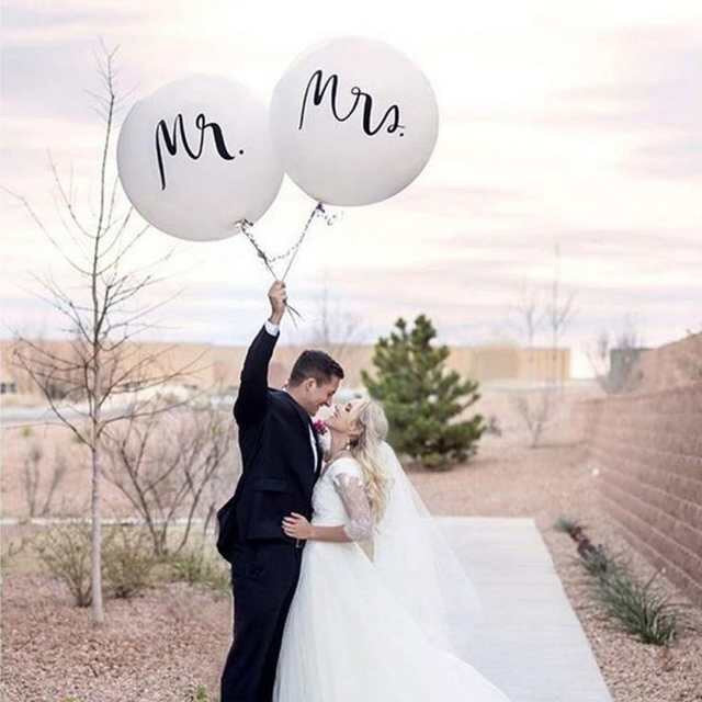 Mrs and Mr Balloon