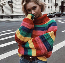 Load image into Gallery viewer, Rainbow Sweater