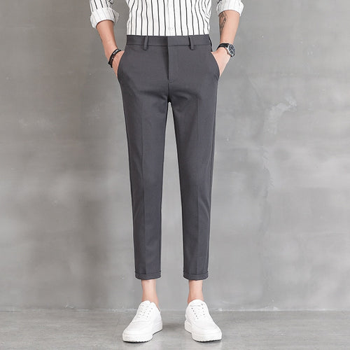 Fashion Mens Pants Black Grey