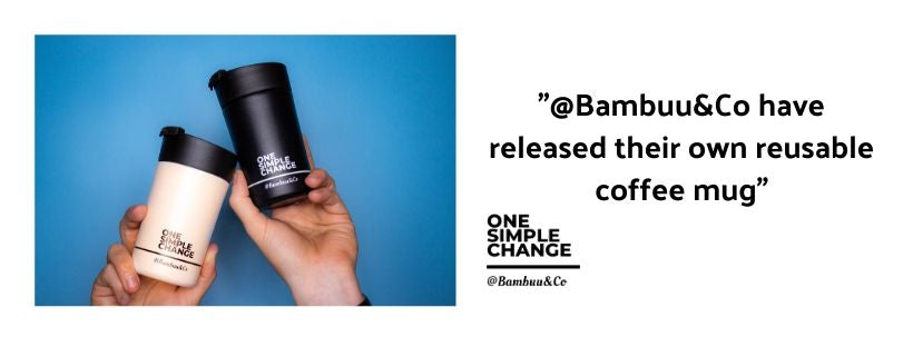 @Bambuu&Co have released their own reusable coffee mug!