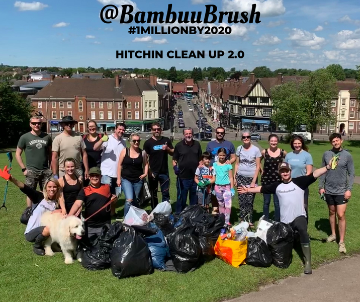 @BambuuBrush Hitchin Big Clean Up 2.0