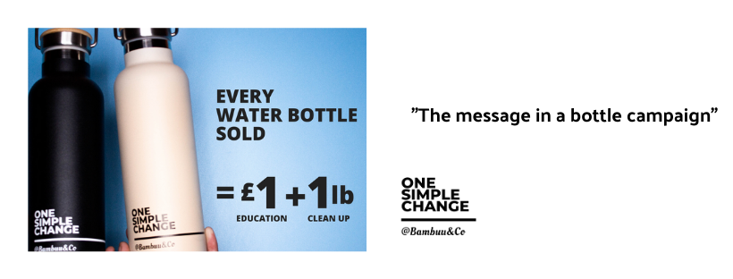 @Bambuu&Co launch new campaign. A MESSAGE IN A BOTTLE!