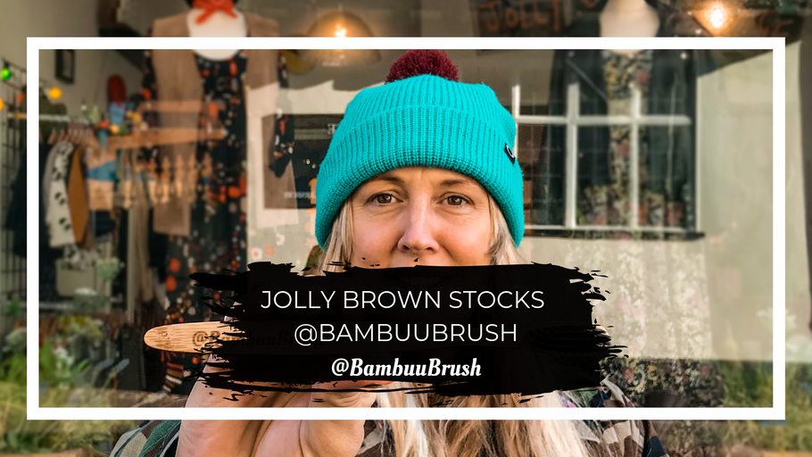 Jolly Brown stock @BambuuBrush