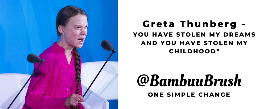 "Greta Thunberg - ""You have stolen my dreams and my childhood"""