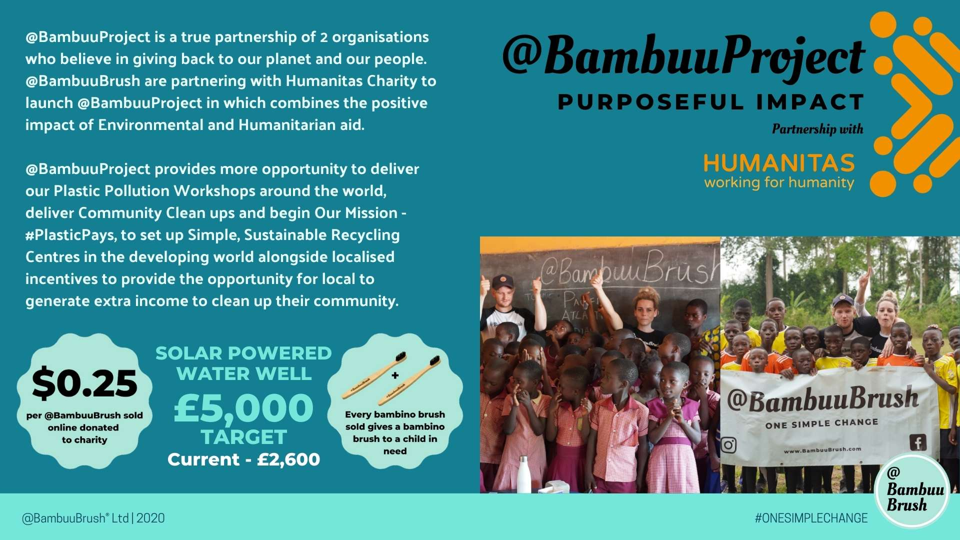 Humanitarian Aid - Environmental Aid - @BambuuProject