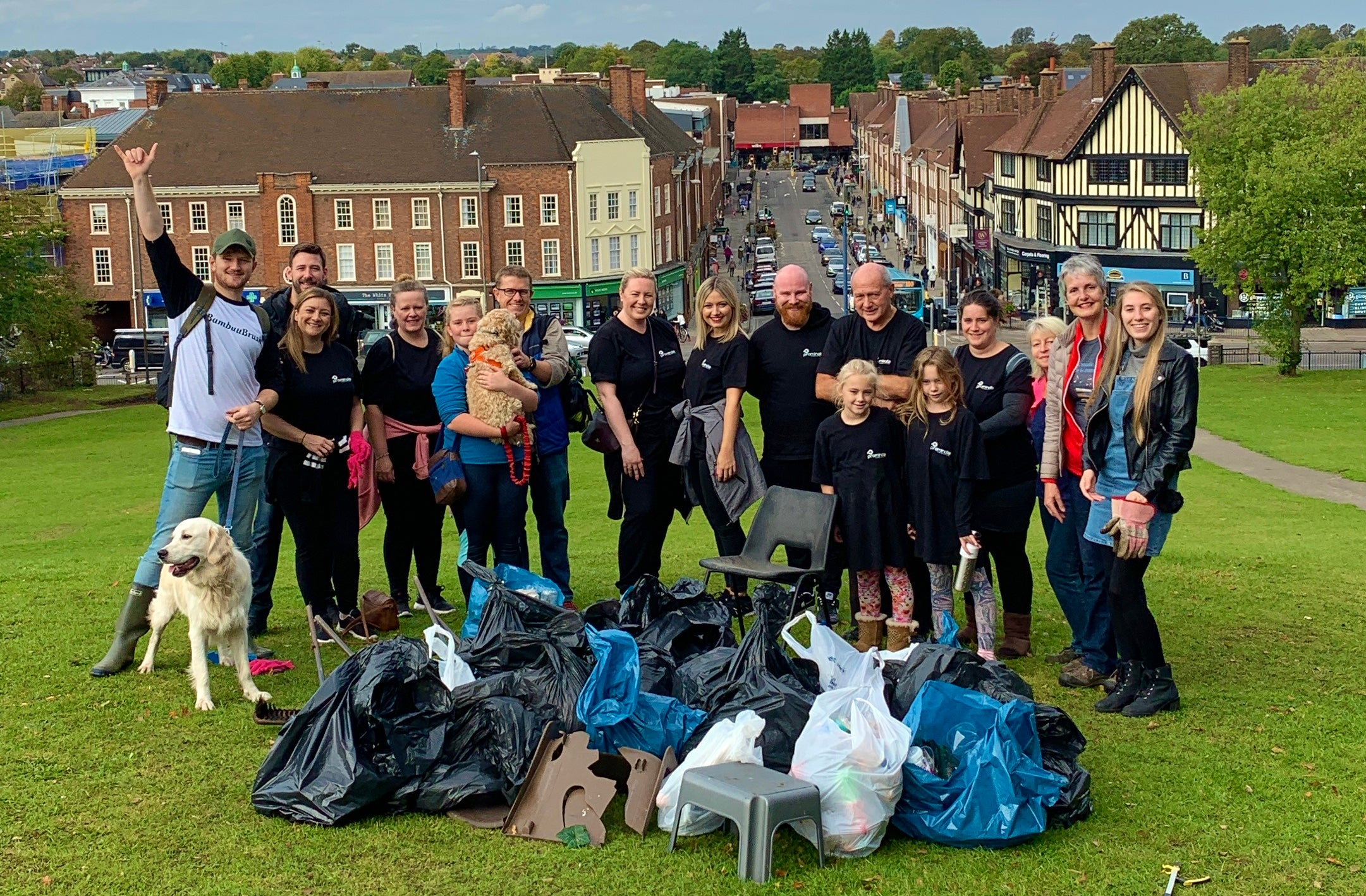 Hitchin clean up - Eco Friendly