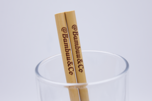 The Reusable Straws - @Bambuu®