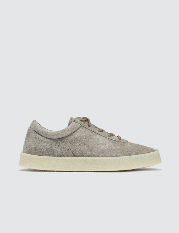 Yeezy Women's Crepe Sneaker In Thick Shaggy Suede