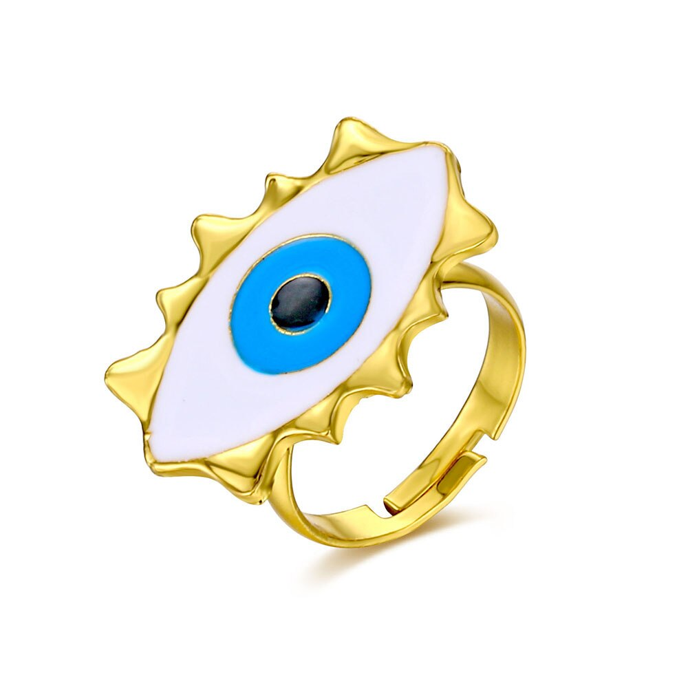Evil Eye Classic Ring