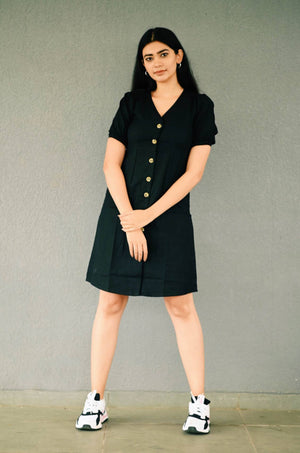 Fern Linen Straight Fit Dress