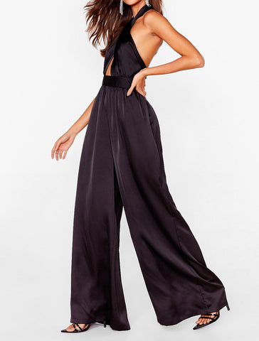 Miranda Satin Jumpsuit