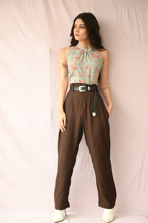 Boss Lady Pleated Trousers