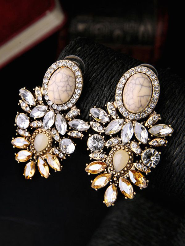 Golden Girl Statement Earrings