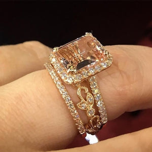 Rumi Luxury Crystal Ring