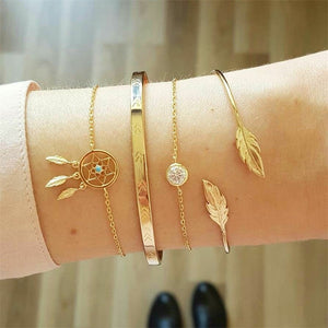 Dreamy 4 Pcs/ Set Vintage Bracelets