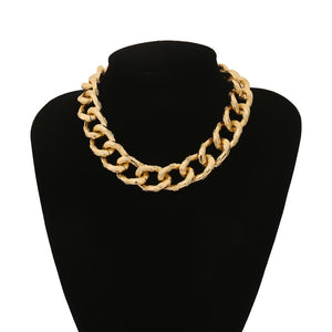 Quinn Chain Choker and Bracelet Set