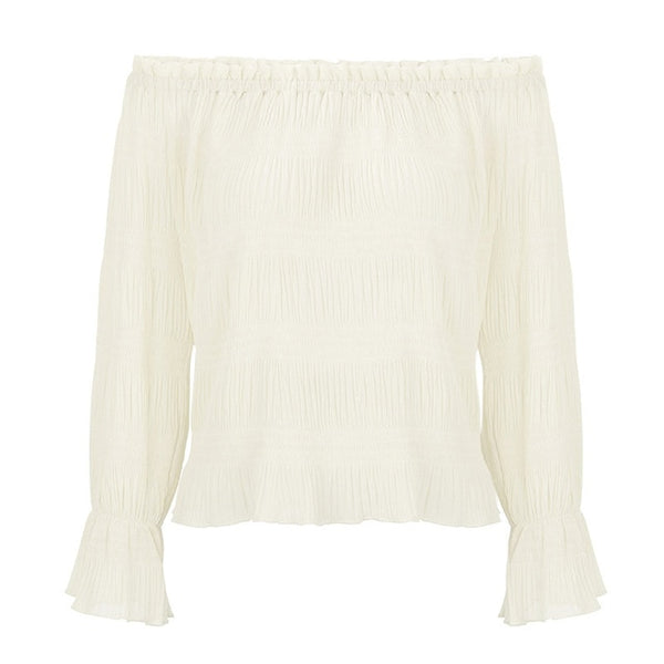 Harper Pleated Blouse