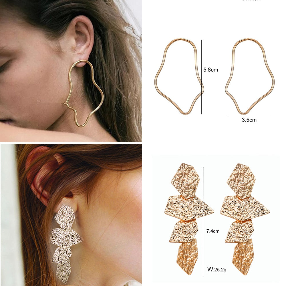 Sofiya Abstract Earrings